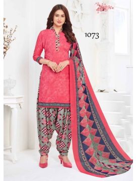 BIBO STYLE -  1073   Pink Color Syntetic  Salwar Material CM492795