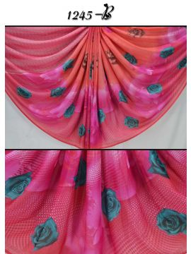 Rich Feel - 1245-B  Pink  Color Synthetic Saree CM497546