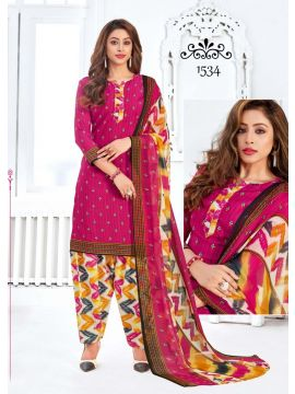 JIO -  1534   Pink Color Synthetic  Salwar Material CM492798