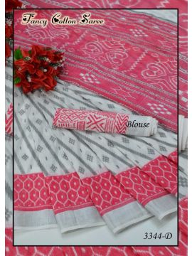 Hari - 3344-D  Pink Color Polyster With Cotton Shirting Bit CM196003
