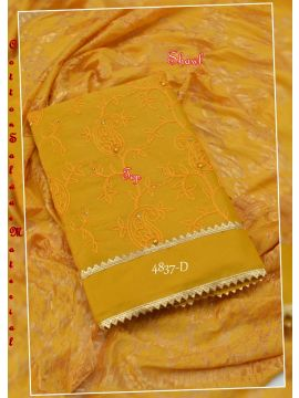 DEVA -4837 -D   Tan Color  Cotton  Saree CM414837
