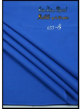 Nevah -  655-E  Blue  Color  Cotton Bottom Material (Up to 20 Meters) CM517257