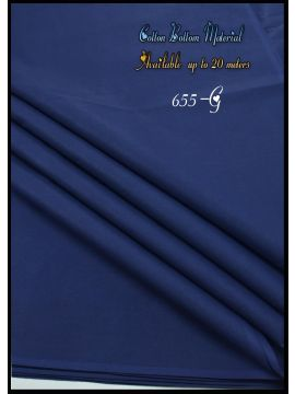 Nevah -  655-G  Navy Blue  Color  Cotton Bottom Material (Up to 20 Meters) CM517257