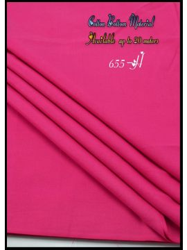Nevah -  655-H  Pink  Color  Cotton Bottom Material (Up to 20 Meters) CM517257