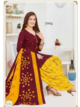Black Color Pure Cotton Salwar Material