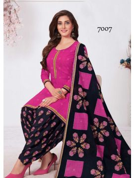 CASH AND CARRY -  7007   Pink  Color Cotton Salwar Material CM517024