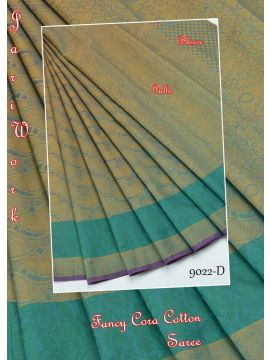 YAMINI - 9022-D   Pink Color Raw Silk Saree CM349022